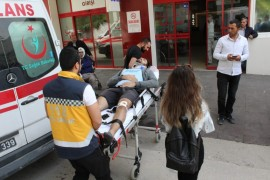 Fabrikada patlama: 8 yaralı