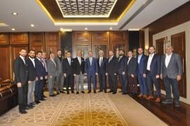 İTSO'dan Alinur Aktaş'a ziyaret