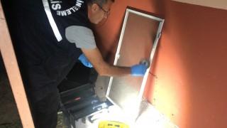 (Özel) – Hırsızın iş kazası…Hırsızlığa geldi, bilgisayarı düşürüp kaçtı