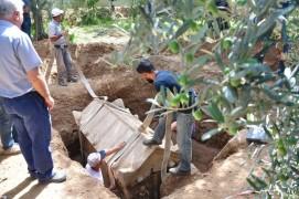 Roma dönemine ait mezardan iskelet çıktı
