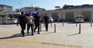 Aranan uyuşturucu tacirini yunus ekipleri yakaladı