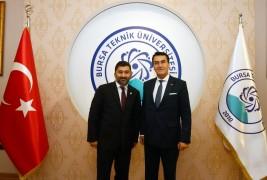 Dündar'dan BTÜ Rektörü Karademir'e ziyaret